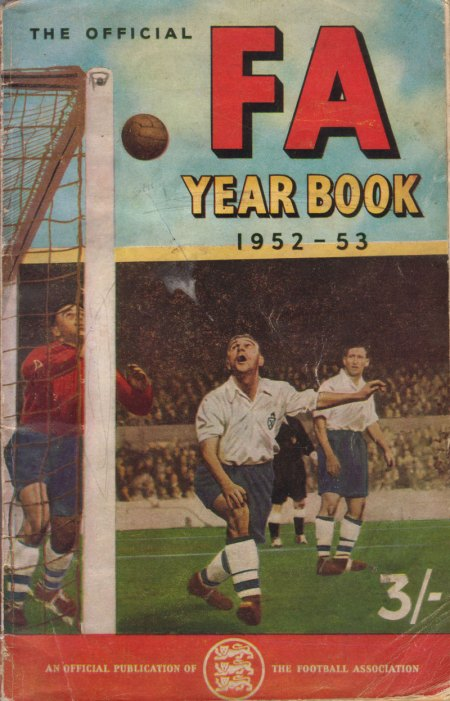 The FA Yearbook 1952-53 - Front Cover.