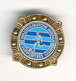 Walthamstow Avenue Supporters Club Badge