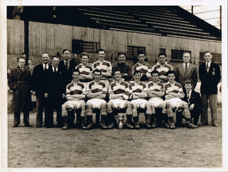 Walthamstow Avenue team photo (Stanley is 4th sitting player from left)
